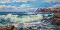 Морской пейзаж Море, море, мир бездонный… N2