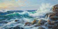 Морской пейзаж Море, море, мир бездонный… N3