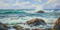 Морской пейзаж Море, море, мир бездонный… N4