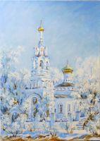 Зима в Черкизово