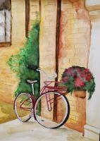 Романтический велосипед