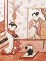 Картина Японская гравюра,серия репродукций