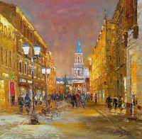 Москва. На Никольской улице