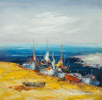 Лодки на берегу N1