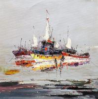 Лодки на якоре