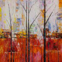 Деревья. Красная версия