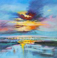 Закат над заливом N1