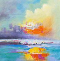 Закат над заливом N2