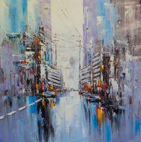 Калейдоскоп улиц. Основной голубой