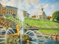 В царстве фонтанов. Петергоф