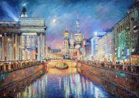 Вечерний блюз Петербурга