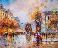 Place de la Madeleine N2  (копия картины А.Бланшара)