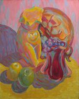 Венера с виноградом