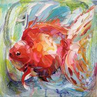 Золотая рыбка для исполнения желаний. N12