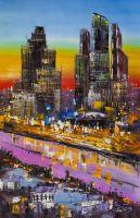 Москва-Сити. Вид на реку
