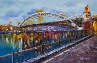 Москва. Вид на Андреевский мост