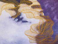 Золотые нити судьбы. Основной фиолетовый. N1