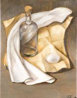 Бутылка и яйцо