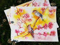 Янтарные птички