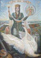 Русь - Лебедь белая
