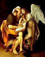 Апостол Матфей и Ангел (копия Караваджо)