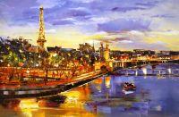 Париж. Вечерняя прогулка по Сене