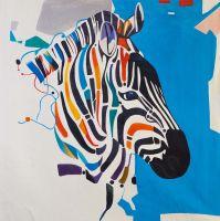 Такая разная зебра