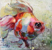 Золотая рыбка для исполнения желаний. N14