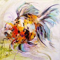 Золотая рыбка для исполнения желаний. N15