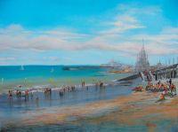 Пляж на Ла-Манше