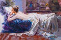 Копия картины Пино Дени. Таинственные сны