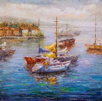 Лодки у причала N4