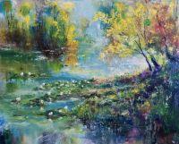 Осенний пруд