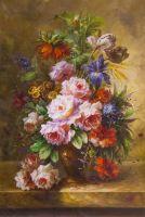 Букет c тюльпанами в стиле барокко N2