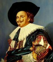 Улыбающийся кавалер (копия Хальса)