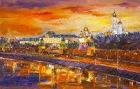 Москва златоглавая. Закат