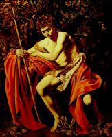 Иоанн Креститель (копия Караваджо)