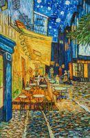 Копия картины Ван Гога. Терраса ночного кафе Плейс ду Форум в Арле