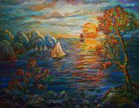 морской пейзаж-1а