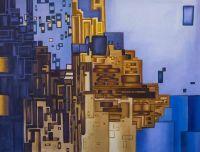 Синий город. Конструктивизм