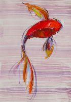 Карп Кои. Японская золотая рыбка на удачу