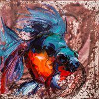 Золотая рыбка для исполнения желаний N17