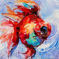 Золотая рыбка для исполнения желаний N21