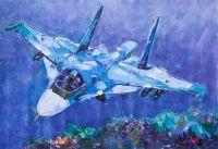 Самолет Миг-35. В небесных просторах