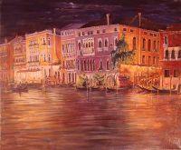 Венеция ночью.