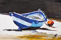 Лодка. На средиземноморском побережье