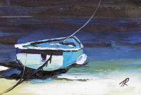 Лодка. На средиземноморском побережье N3