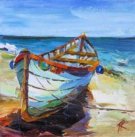 Лодка. На средиземноморском побережье N2