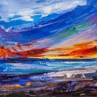 Закат на побережье N3