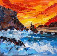 Закат на побережье N4